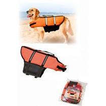Vesta plavací Dog XS 25cm oranžová