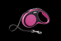 Vodítko flexi Comfort S pásek 5m/15kg růžová