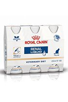 Royal Canin VD Feline Renal Liquid 3x200ml