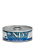 N&D GF CAT OCEAN Adult Small Tuna & Shrimps 80g