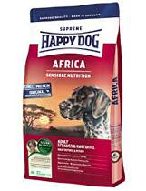 Happy Dog Supreme Sensible AFRICA pštros,bramb. 4kg