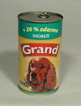 GRAND konz. pes drůbeží 1300g