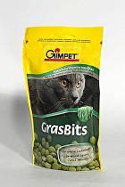 Gimpet kočka Tablety GrasBits s kočičí trávou 50g
