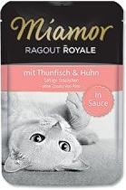 Miamor Cat Ragout kapsa tuňák+kuře ve šťávě 100g