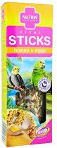 Nutrin Sticks tyčinka stř. papoušek Eggs&Honey 2ks