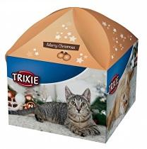 Vánoční dárková krabice pro kočky TR