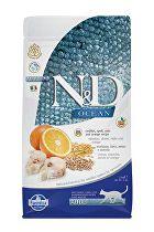 N&D OCEAN LG CAT Adult Codfish & Orange 1,5kg
