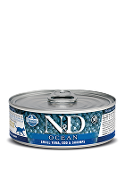 N&D GF CAT OCEAN Adult Small Tuna& Codfish&Shrimps 80g