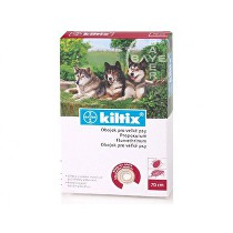 Kiltix 70 obojek (velký pes) 1ks + ponožky zdarma (do vyprodání)