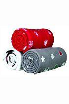 Vánoční Deka YUKI pro psy i kočky Červená 100x70cm TR*