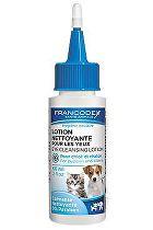 Francodex Roztok čistící na oči štěně, kotě 60ml