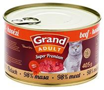 GRAND konz. Superpremium kočka hovězí 405g