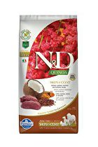 N&D GF Quinoa DOG Skin&Coat Venison & Coconut 7kg