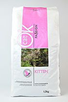 OK Cat Passion Kitten Chicken Rice 1,5kg