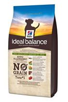 Hill's Canine Ideal B. Adult NO GRAIN Tuňák bram 2kg