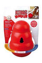 Hračka pes KONG Wobbler plnící 13x18cm