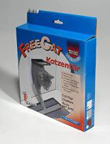Dvířka kočka plast Bílá 2P Freecat Classic TR 1ks