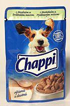 Chappi kapsička s hovězím a drůbežím masem 100g