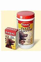 Sanal pes YEAST CALCIUM kalciové tablety 400g/4x100g
