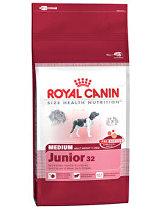 Royal canin Kom. Medium Junior 4kg