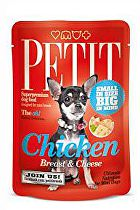 Petit Pouches Chicken Breast&Cheese 80g