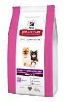Hill's Canine Dry Adult Small&Mini Sensitive ski 1,5kg