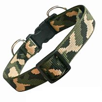 Obojek nylon ARMY 40-60cmx24mm 1ks