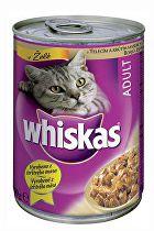 Whiskas konzerva telecí a krůta v želé 400g