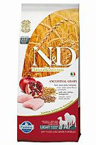 N&D Low Grain DOG Light Medium&Maxi Chicken&Pomeg 12kg