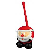 Hračka pes Vánoční míč Santa latex 18cm TR 1ks
