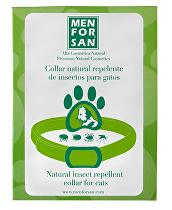 Menforsan Přírodní obojek pro kočky, odpuzující klíšťata a blechy