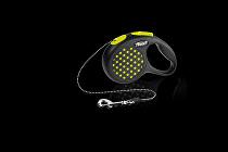 Vodítko FLEXI Design XS lanko 3m žlutá
