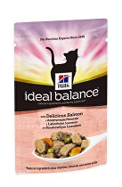 Hill's Feline Ideal B. Adult lahodný losos kapsa 85g