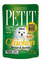 Petit Pouches Chicken Breast&Surimi 80g
