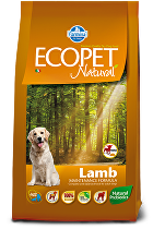 Ecopet Natural Adult Lamb Mini 12kg