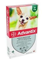 Advantix Spot On 1x0,4ml pro psy do 4kg  (1 pipeta)