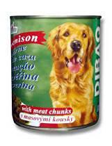 Dibaq Pet pes konz. Zvěřina 810g