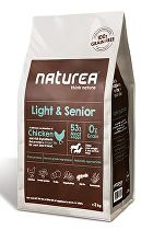 Naturea GF dog Light&Senior- all breeds 12kg + Doprava zdarma