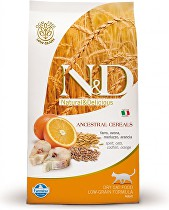 N&D Low Grain CAT Adult Codfish & Orange 5kg