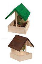 Budka pro ptáky dřevěná venkovní NARCISSE Zolux
