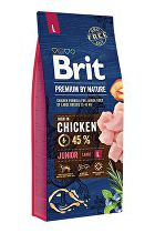 Brit Premium Dog by Nature Junior L 15kg