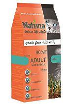 Nativia Cat Adult Salmon&Rice Active 1,5kg