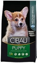 CIBAU Dog Puppy Medium 12kg + 2 kg zdarma (do vyprodání)