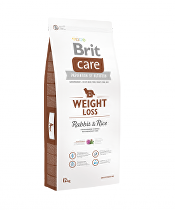 Brit Care Dog Weight Loss Rabbit & Rice 1kg