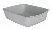 WC kočka bez rámu Classic sv. šedá 46x36x12cm TR