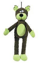 Hračka pes BEAR plyš zelená 38cm Zolux