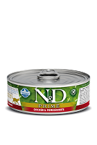 N&D GF CAT PRIME Adult Chicken & Pomegranate 80g