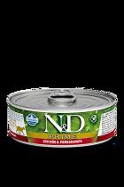 N&D GF CAT PRIME Adult Chicken & Pomegranate 80g