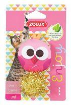 Hračka kočka LOVELY s šantou sova Zolux