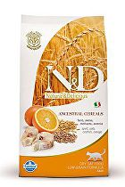 N&D Low Grain CAT Adult Codfish & Orange 300g